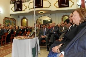 El alcalde de Huelva ha estado en el acto.
