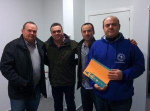 Convenio colaboración entre Ayuntamiento y Club La Palma 95.