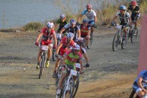 Cross duatlon en La Palma del Condado.