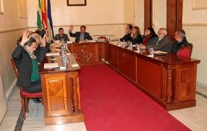 Pleno de presupuestos en San Juan.
