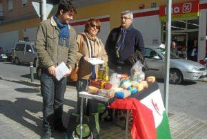 Recogida de alimentos para el sahara.