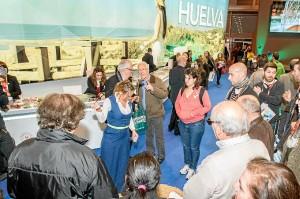 Panorámica del stand de Huelva.