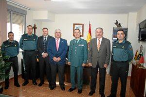 Visita Comandancia Guardia Civil 170114