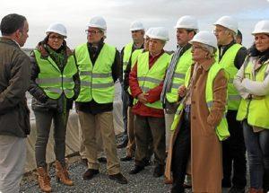 Visita PSOE obras trasvase Condado-702701