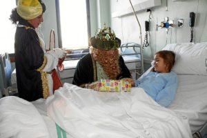 Visitas Reyes Magos asilos, hospitales (2)