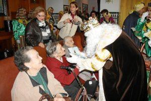 Visitas Reyes Magos asilos, hospitales (4)