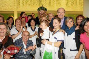 Visitas Reyes Magos asilos, hospitales (5)