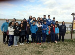 Integrantes del Club Marítimo de Huelva.