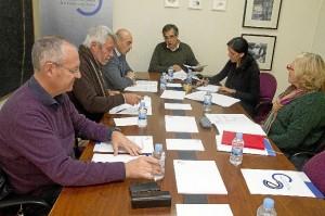 Reunión de la comisión.