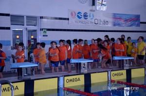 Equipo cadete del Club Natación Huelva.