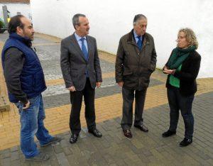 20140206 Visita obras PROFEA El Almendro