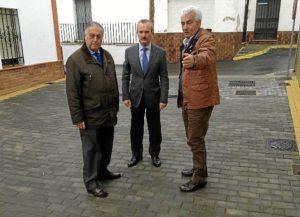 20140206 Visita obras PROFEA Villanueva Castillejos