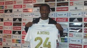 Aleys Nong, nuevo jugador del Recreativo de Huelva.
