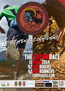 Cartel de la Copper Race de Campofrío.