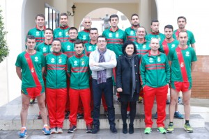 Presentación del Club de Atletismo de San Bartolomé.