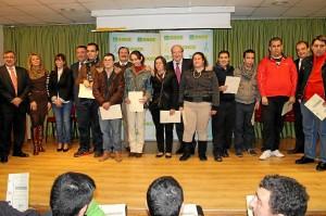 Entrega diplomas cursos FEAPS-Ayto Once