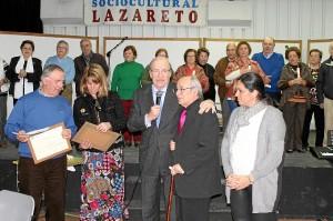 Homenaje voluntarios Lazareto 'Mayores por los mayores' (1)