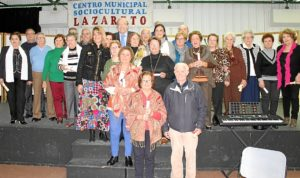 Homenaje voluntarios Lazareto 'Mayores por los mayores' (2)