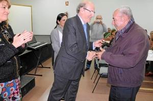 Homenaje voluntarios Lazareto 'Mayores por los mayores'