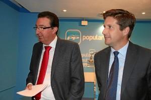 Manuel Andrés González y Guillermo García.