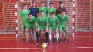 Equipo de fútbol sala del Willy Melly de San Juan del Puerto.