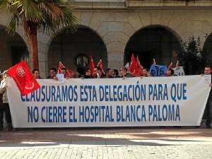 Protesta hospital Blanca Paloms (4)