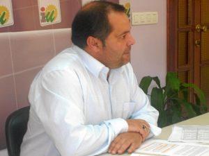 Rafael Sanchez, portavoz IU Diputacion Huelva