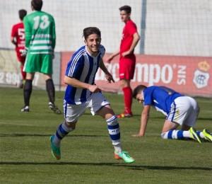 Antonio Domínguez, autor de dos goles.
