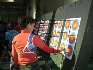 Torneo de tiro con arco en Mazagón.