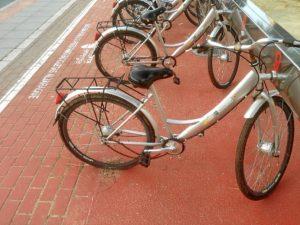 bicicletas deterioradas