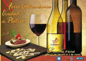 cartel feria gastronomica corte