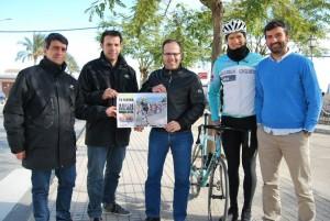 Cartel de la 60 Vuelta Ciclista a Andalucía.