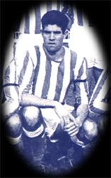 Luis Aragonés con la camiseta del Recreativo. (foto: mirecre.galeon.com)