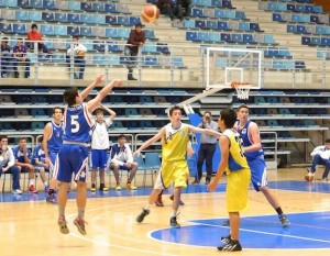 Fase final junior de baloncesto masculino.