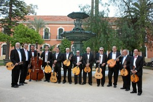 Componentes de la Orquesta de Plectro de la ONCE
