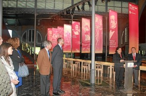 Expo Turner Tables Inauguracion Puerto Huelva