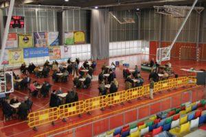 Campeonato de Andalucía de dominó en San Juan del Puerto.