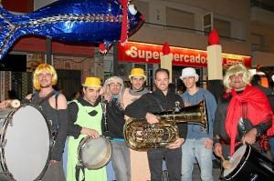 Punta Umbría Festejos Carnaval Entierro de la Sardina (1)