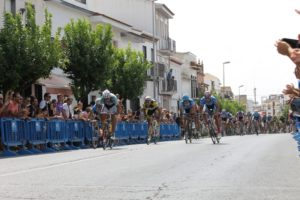 Trofeo Federación de ciclismo en Bollullos del Condado.