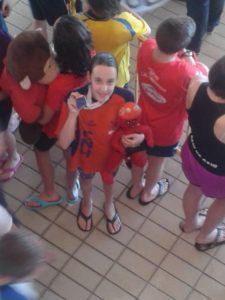 Laura Sánchez, nadadora del Club Natación Huelva.