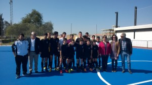 Nueva pista de fútbol sala en Gibraleón.