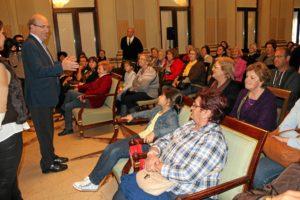 Visita colectivos Ayuntamiento