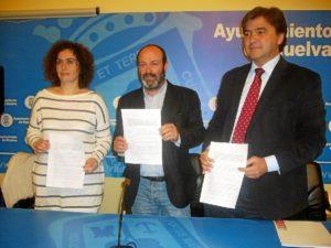 Yolanda Cabezas, Pedro Jimenez y Gabriel Cruz.