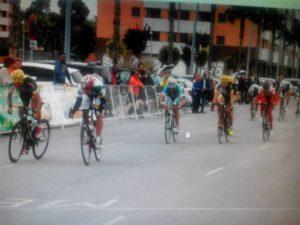 Corredores juniors del Monferve La Palma de ciclismo.