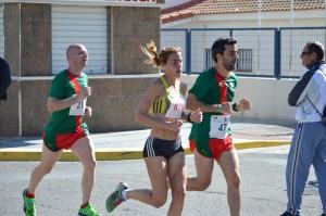 Ana Dias, atleta portuguesa, ganadora de la prueba.