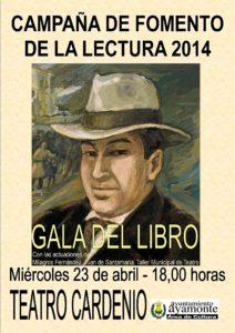 CARTEL GALA DEL LIBRO 2014