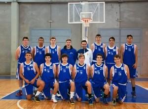 Equipo cadete masculino del Conquero Huelva.