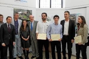 Entrega premios concurso HuelvaApunta Col Arquitectos