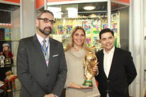 Copa del Mundo en el Museo del Mundialito.