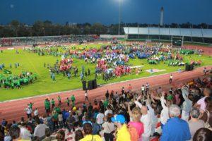 Inauguración del Mundialito 2014.